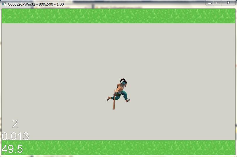 Cocos2d-x游戏实例-《跑跑跑》制作教程(第五篇)——主角上下移动